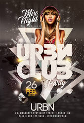 Urban Club Night Party by n2n44