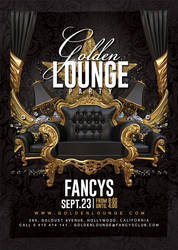 Golden Lounge Party by n2n44