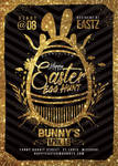 Happy Easter Egg Hunt Flyer by n2n44