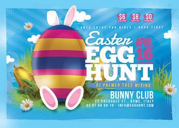 Easter Egg Hunt Flyer by n2n44