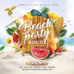 Beach Party Flyer by n2n44
