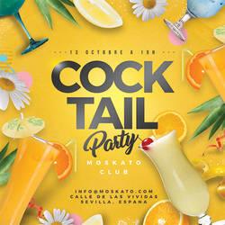 Seasonal Cocktail Party Flyer by n2n44