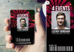 Creative Event Badge by n2n44
