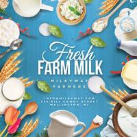 Fresh Dairy Farm Product Flyer by n2n44