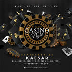 Squared Casino Night Deluxe Flyer by n2n44