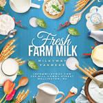Fresh Dairy Farm Flyer by n2n44