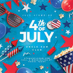 4th Of July Usa Flyer Party by n2n44