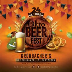 Oktober Beer Fest Flyer by n2n44