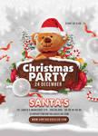 Christmas Party Club Flyer by n2n44
