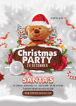 Christmas Party Club Flyer by n2n44