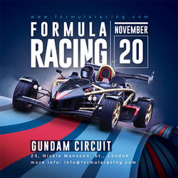 Formula Racing Club Flyer by n2n44