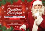Santa Claus Christmas Workshop Flyer by n2n44