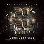 New Year Party Nye Flyer by n2n44