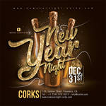 01 DesignNew Year Party Flyer by n2n44