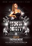Urban Night Party Flyer by n2n44