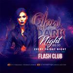 Glow In The Dark Party Flyer by n2n44