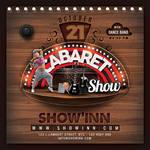 Cabaret Club Show flyer by n2n44