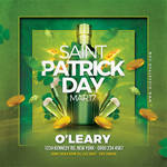 Saint Patrick Day Party Flyer by n2n44