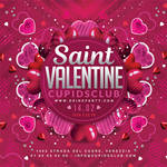 Saint Valentine Day Party Flyer by n2n44