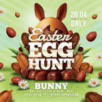 Easter Egg Hunt Flyer by n2n44
