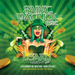 Saint Patrick Irish Day Party Flyer by n2n44