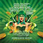 Saint Patrick Irish Day Party Flyer by n2n44
