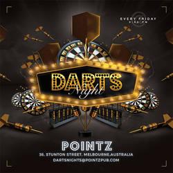 Darts Pub Night Or Club Flyer by n2n44
