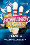 Bowling Nights Flyer by n2n44