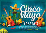 Mexico Cinco de Mayo Flyer by n2n44