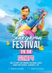 Songkran Festival Party Flyer by n2n44