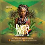 Jamaican Rasta Party Flyer by n2n44
