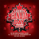 Canada National Day Party Flyer by n2n44