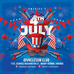 Usa 4th Of July National Day Flyer by n2n44
