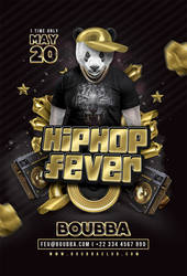 Hiphop Fever Club Flyer Template by n2n44