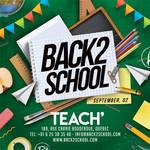 Back 2 School Party Flyer by n2n44