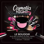 Cosmetic Night Shop Presentation Flyer by n2n44