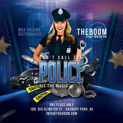 Themed Police Night Flyer template by n2n44