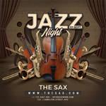 Jazz Night Concert Flyer by n2n44