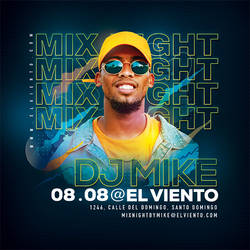 DJ Mix Nightclub Flyer by n2n44