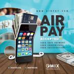 Phone Air Pay Service Flyer by n2n44