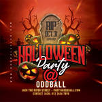 Halloween Night Club Party Flyer (Patreon only) by n2n44