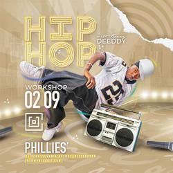 Hip Hop Workshop Flyer by n2n44