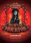 Dia De Los Muertos Club Flyer by n2n44