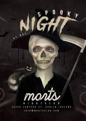 Spooky Night Club Party Flyer by n2n44
