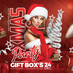 Christmas Party Flyer by n2n44