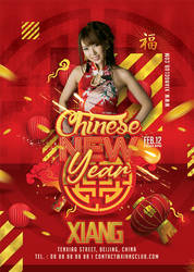 Chinese New Year Celebration Flyer by n2n44