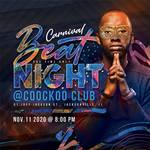 DJ Beat Night Flyer - Masked carnival edition by n2n44