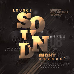 Lounge Sound Party Flyer by n2n44