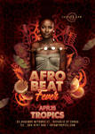 Afro Beat party Flyer by n2n44
