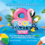 Pool Party Flyer by n2n44
